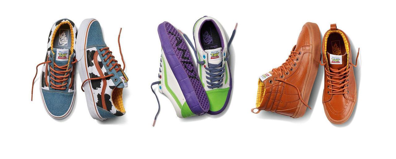 Vans och Disney släpper Toy Story-skor