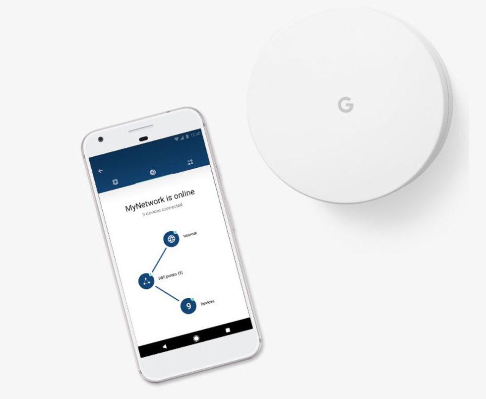 Google presenterar Google Wifi