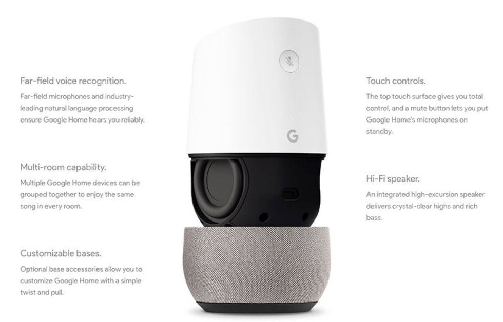 Google snackar lite mer om Google Home