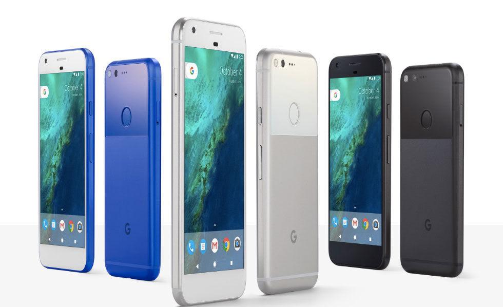 Google visar upp Pixel