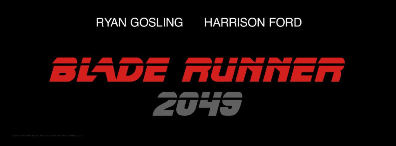 Blade Runner-uppföljaren heter Blade Runner 2049