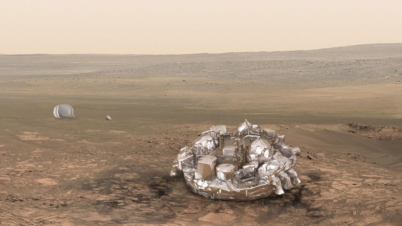 Nästa vecka landar Schiaparelli på Mars