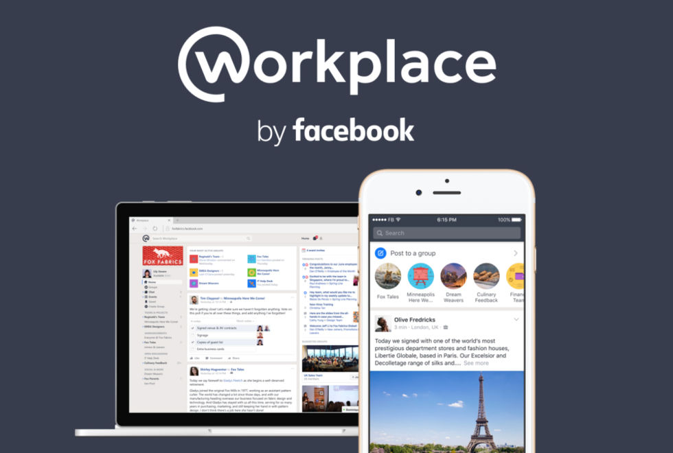 Facebook lanserar Workplace by Facebook
