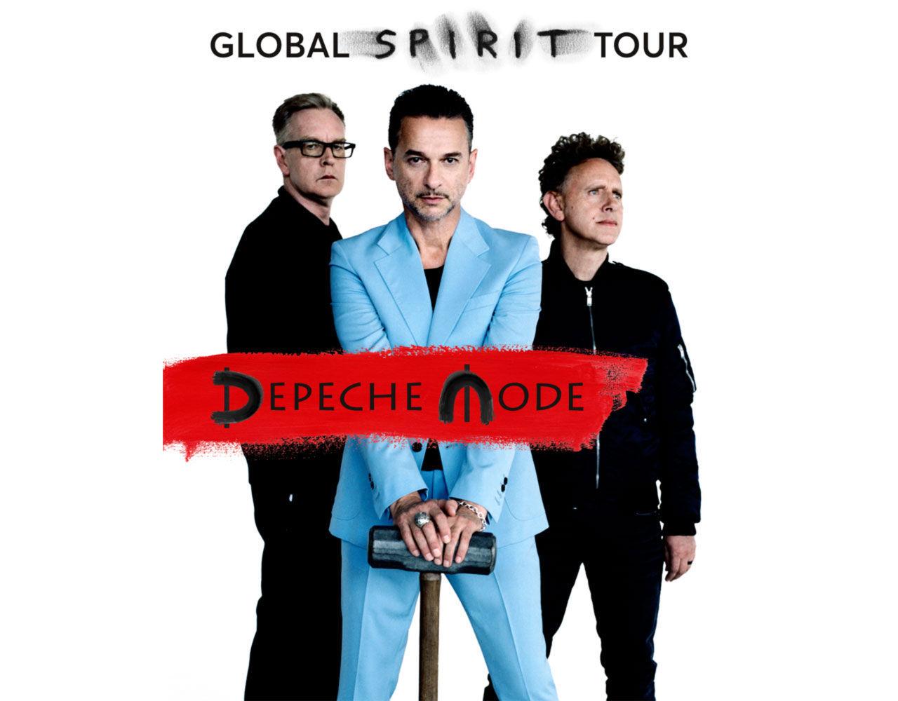 Depeche Mode ut på Europaturné nästa år