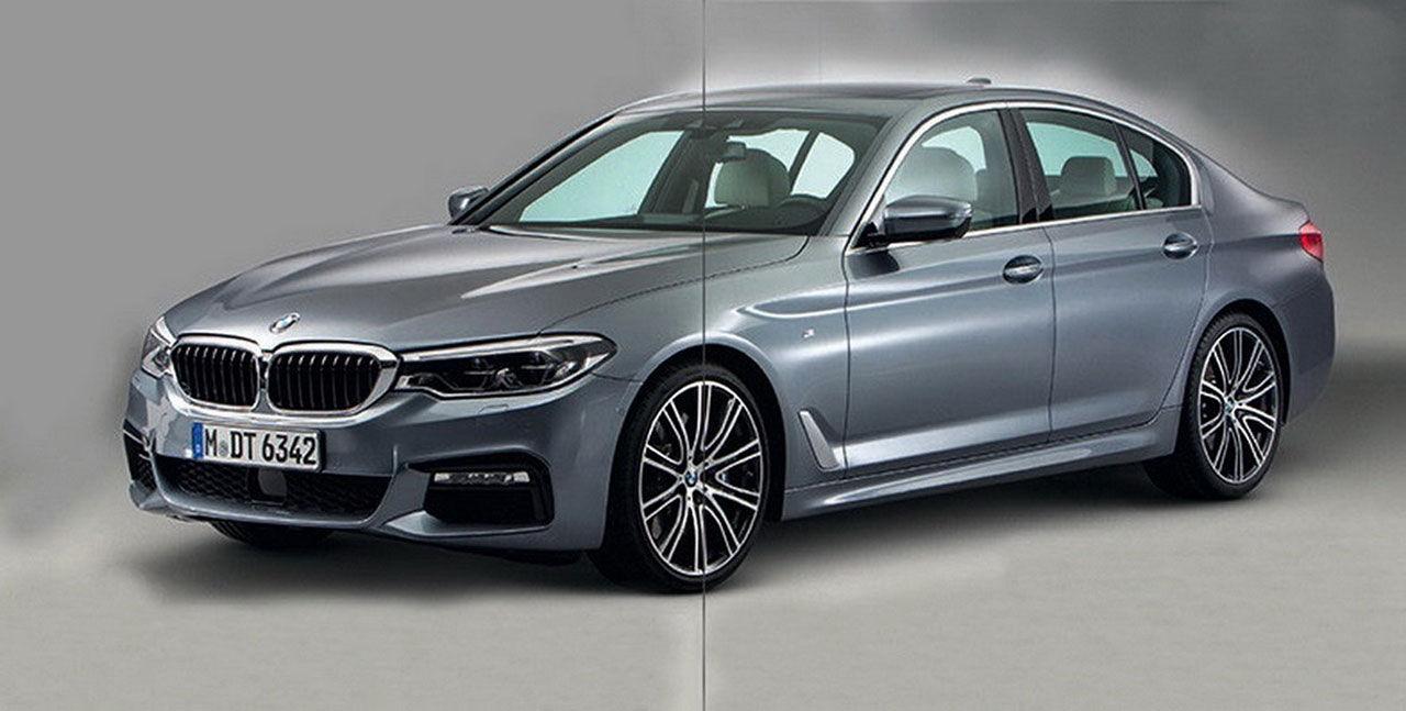 Nya BMW 5-serie läcker ut