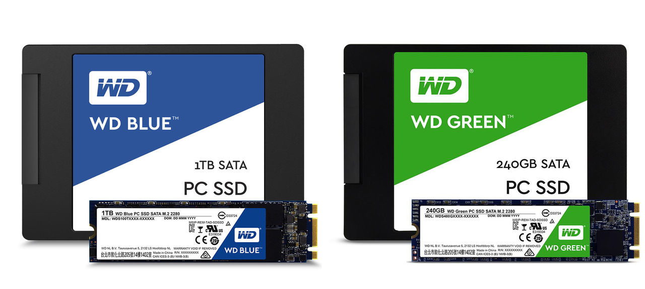 Western Digital hoppar äntligen på SSD-tåget