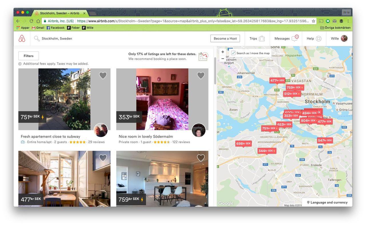 Airbnb-värdar upptaxeras av Skatteverket