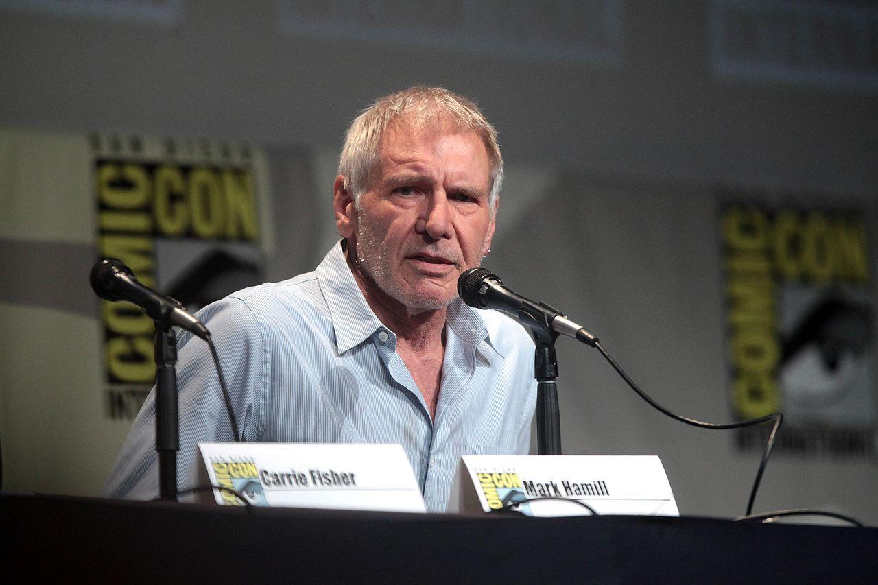 Produktionsbolag bötfälls för Harrison Fords benbrott
