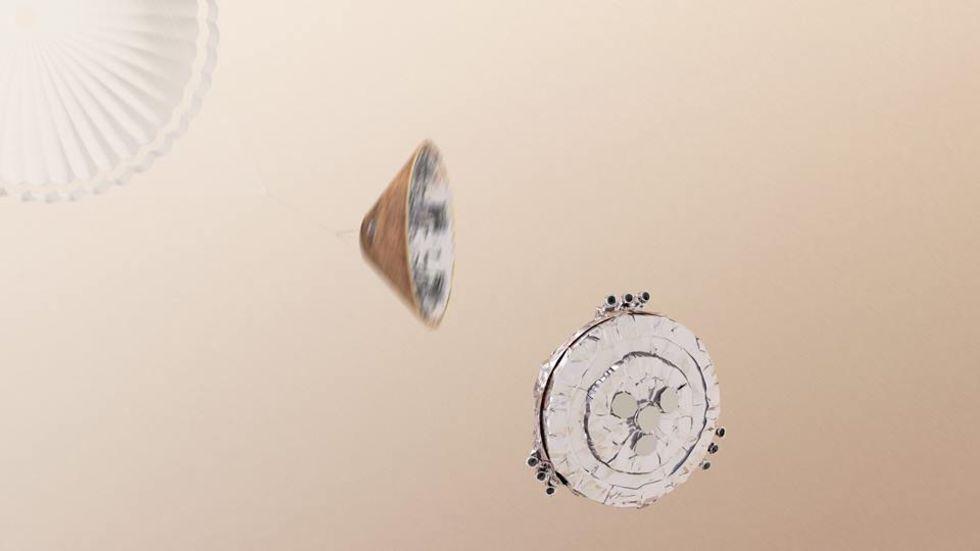 Följ när Schiaparelli landar på Mars