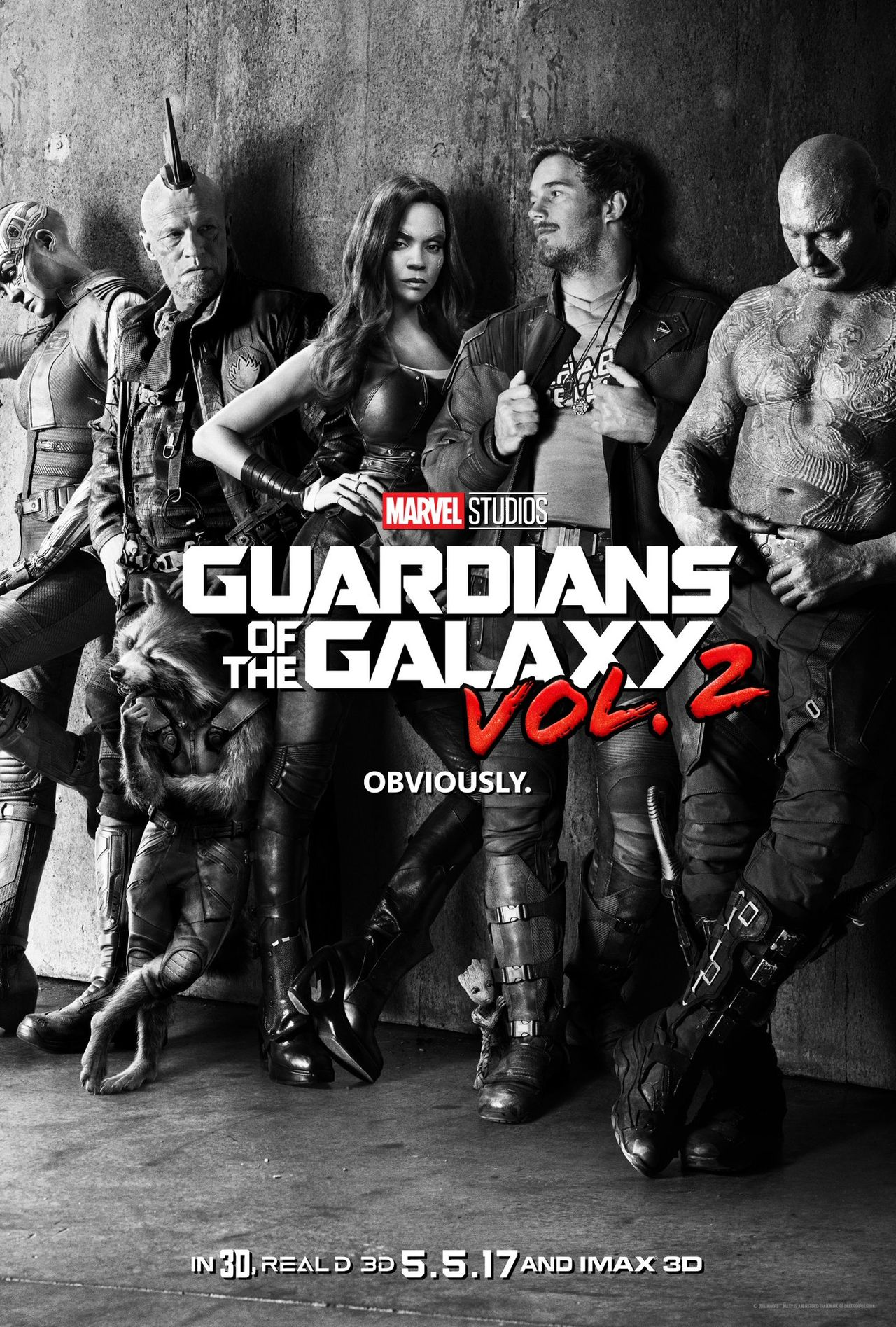 Affisch för Guardians of the Galaxy Vol. 2