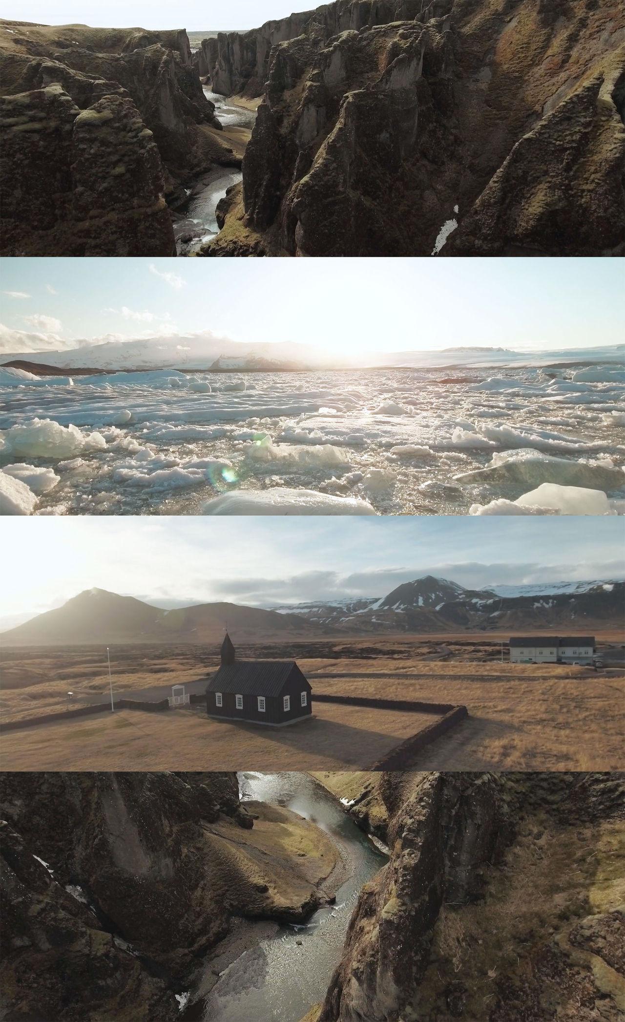 Island från ovan