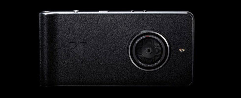 Kodak visar upp mobiltelefonen Ektra