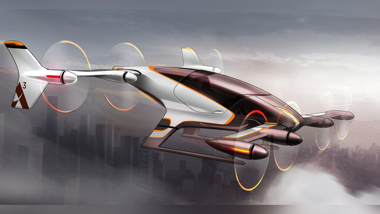 Vahana - självflygande taxi från Airbus