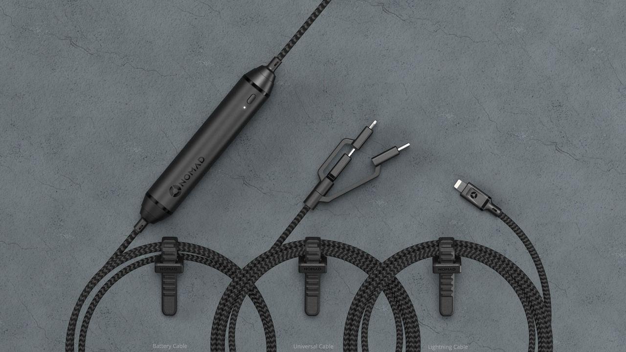 Tre kablar som ska tåla hårda tag
