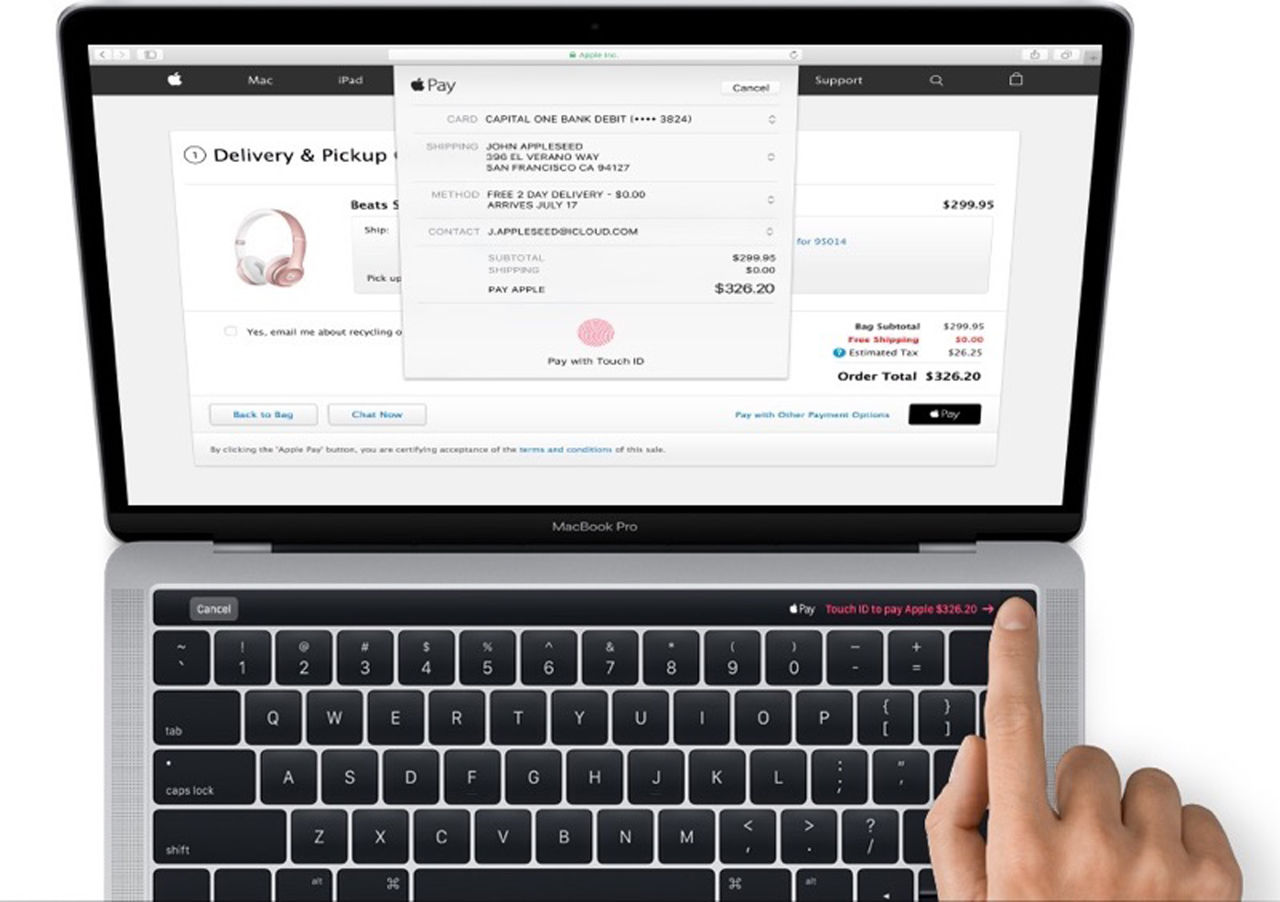 Apple råkar läcka Macbook Pro med OLED-remsa