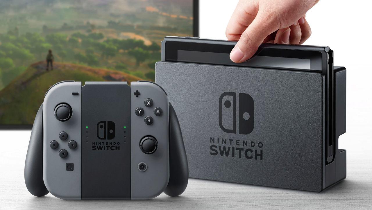 Nintendo räknar med att skeppa två miljoner Switch i mars