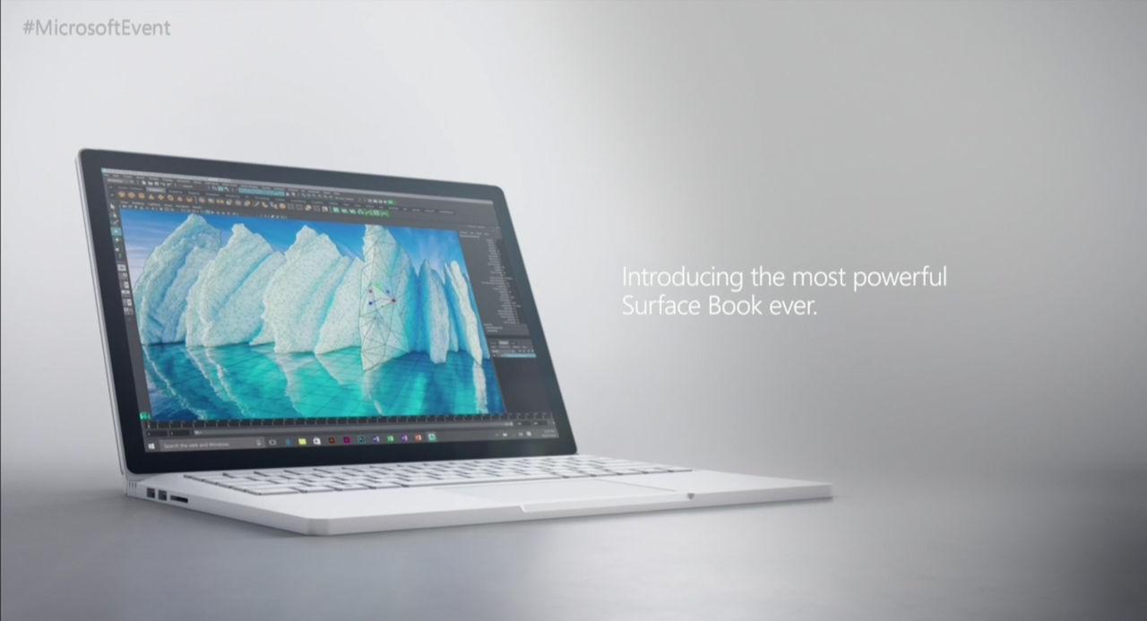 Microsoft visar upp uppdaterad Surface Book