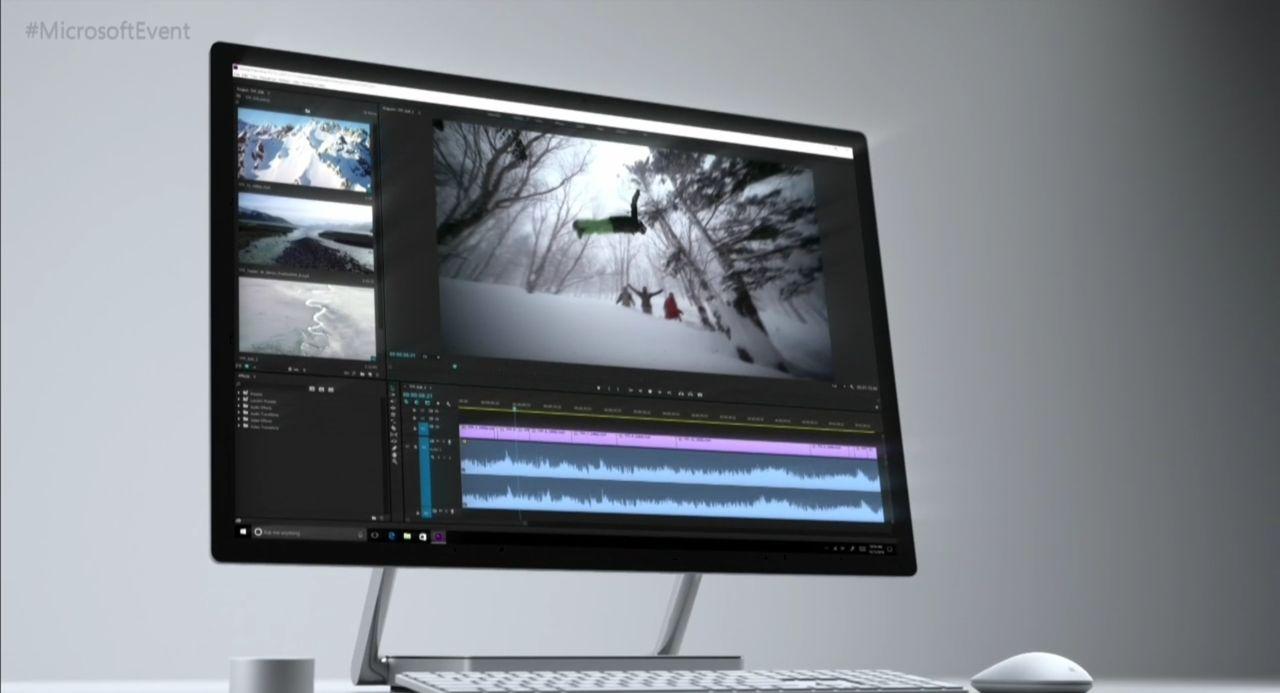 Microsoft visar upp Surface Studio