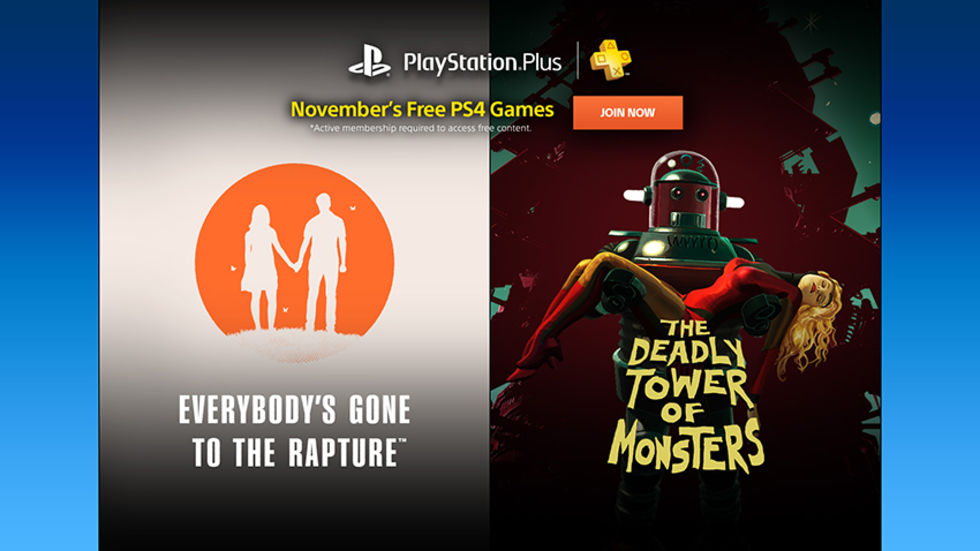 Nästa månads PlayStation Plus-erbjudande