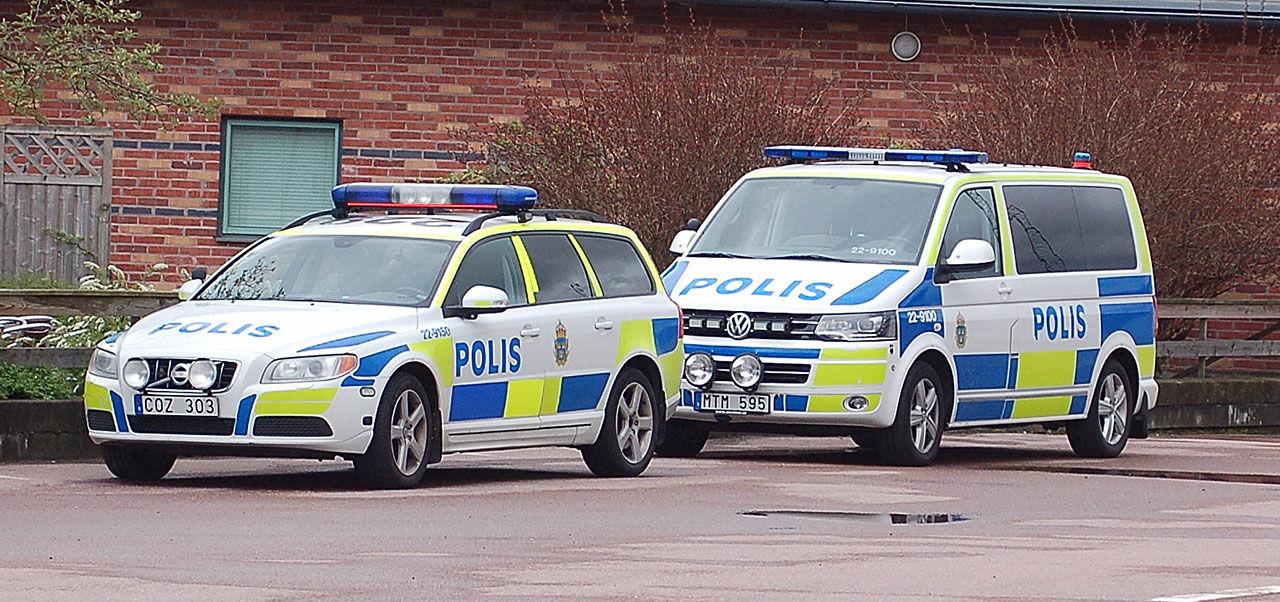 Poliskontroller i den svenska trafiken minskar kraftigt