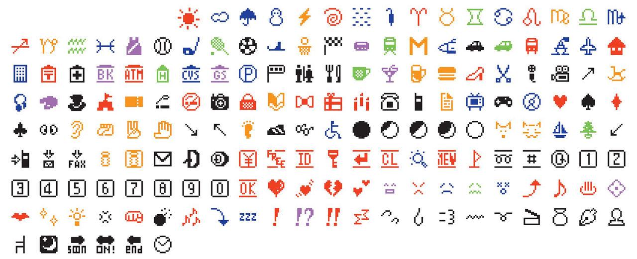 Original-emojisarna har flyttat in på MoMA