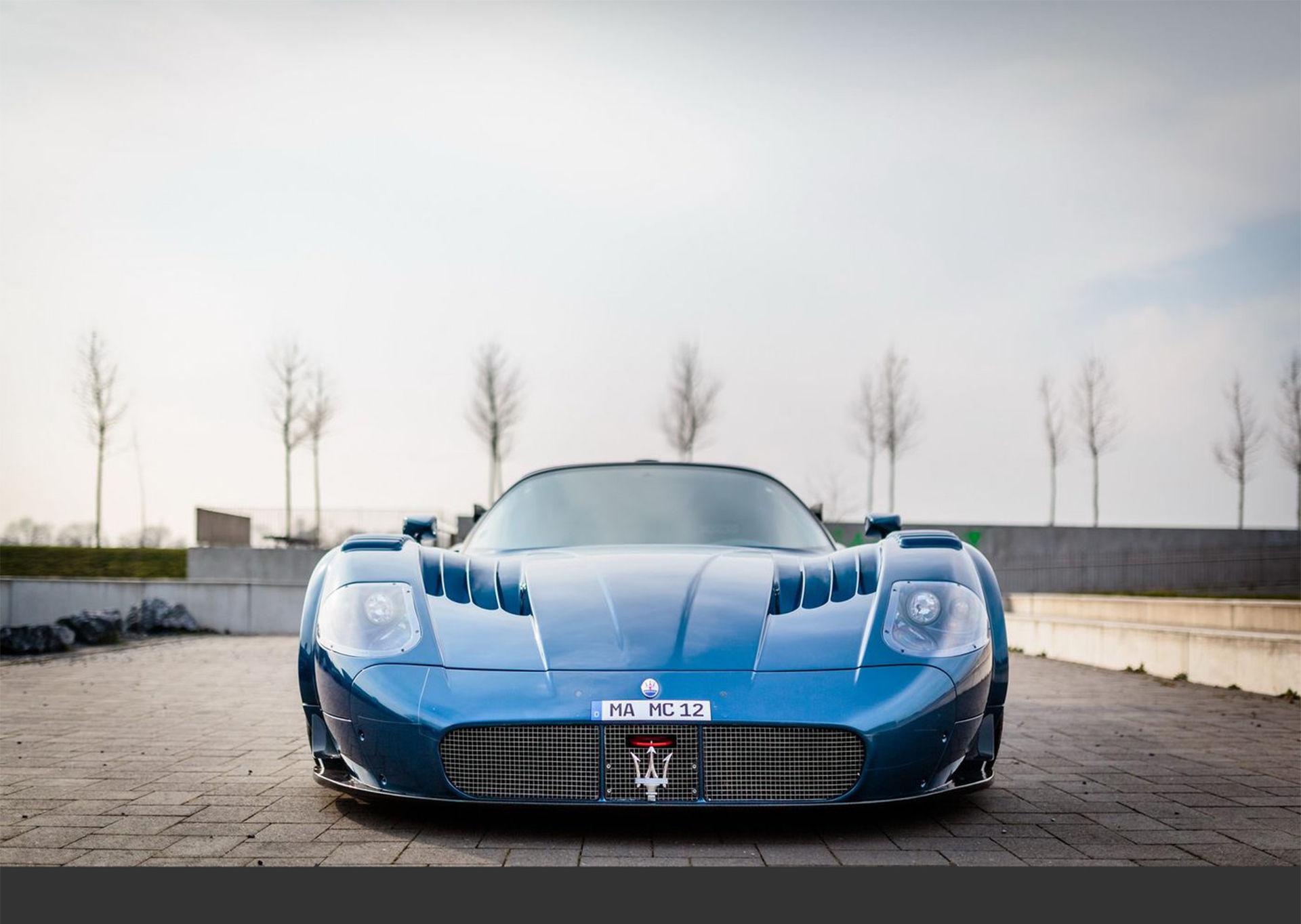 Maserati och Edo Competition bygger MC12