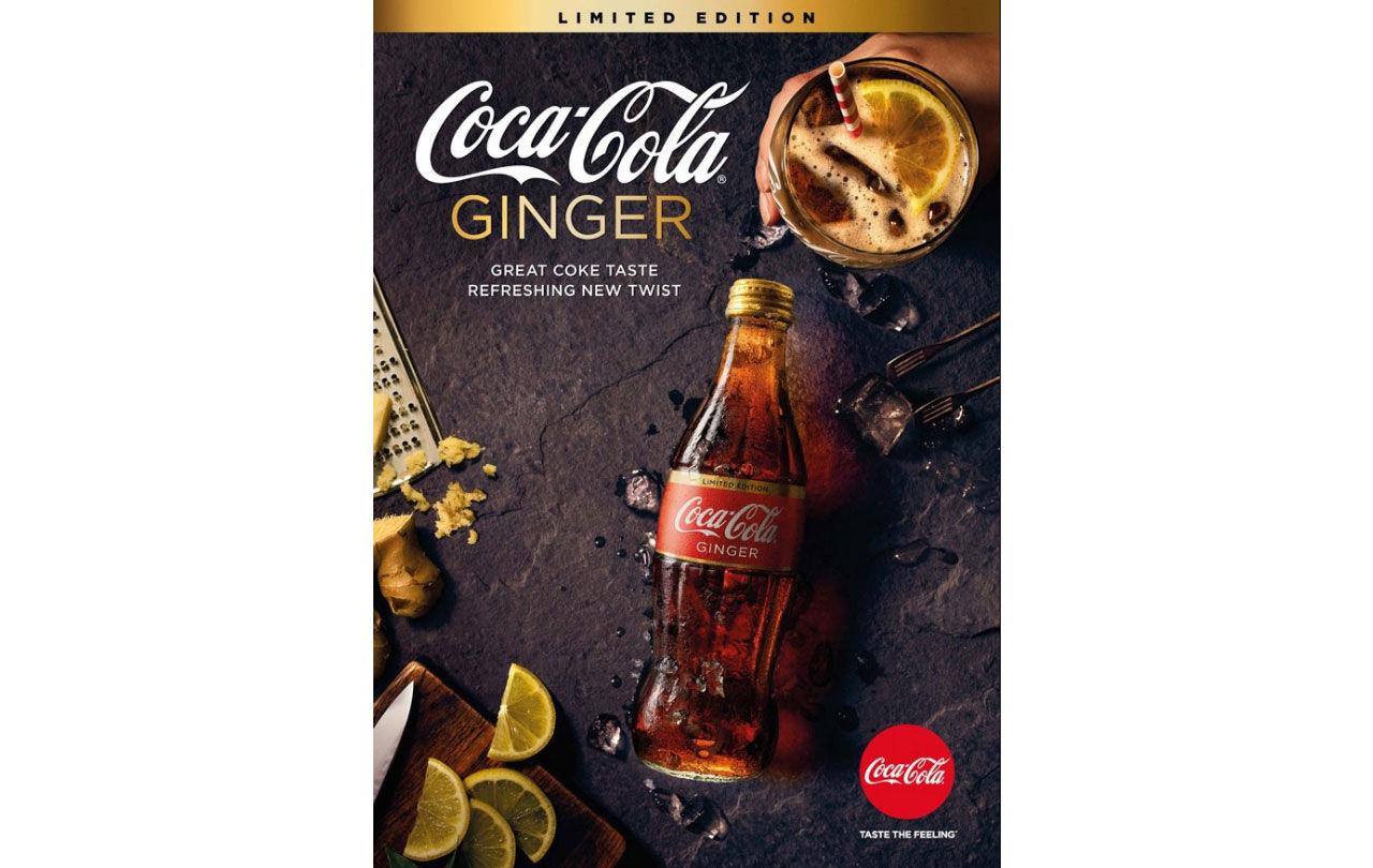 Coca Cola med smak av ingefära