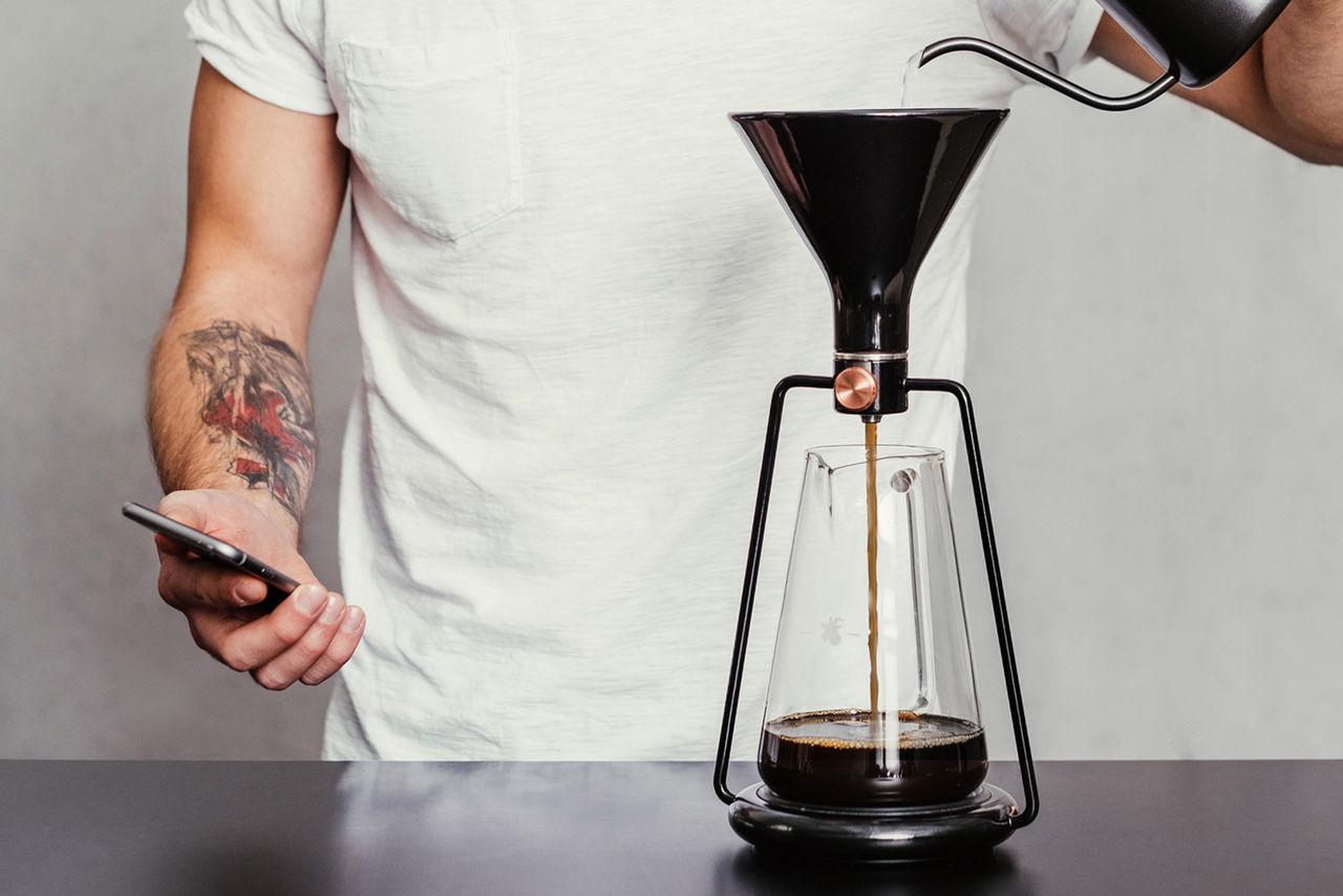 Den smarta kaffemaskinen Gina