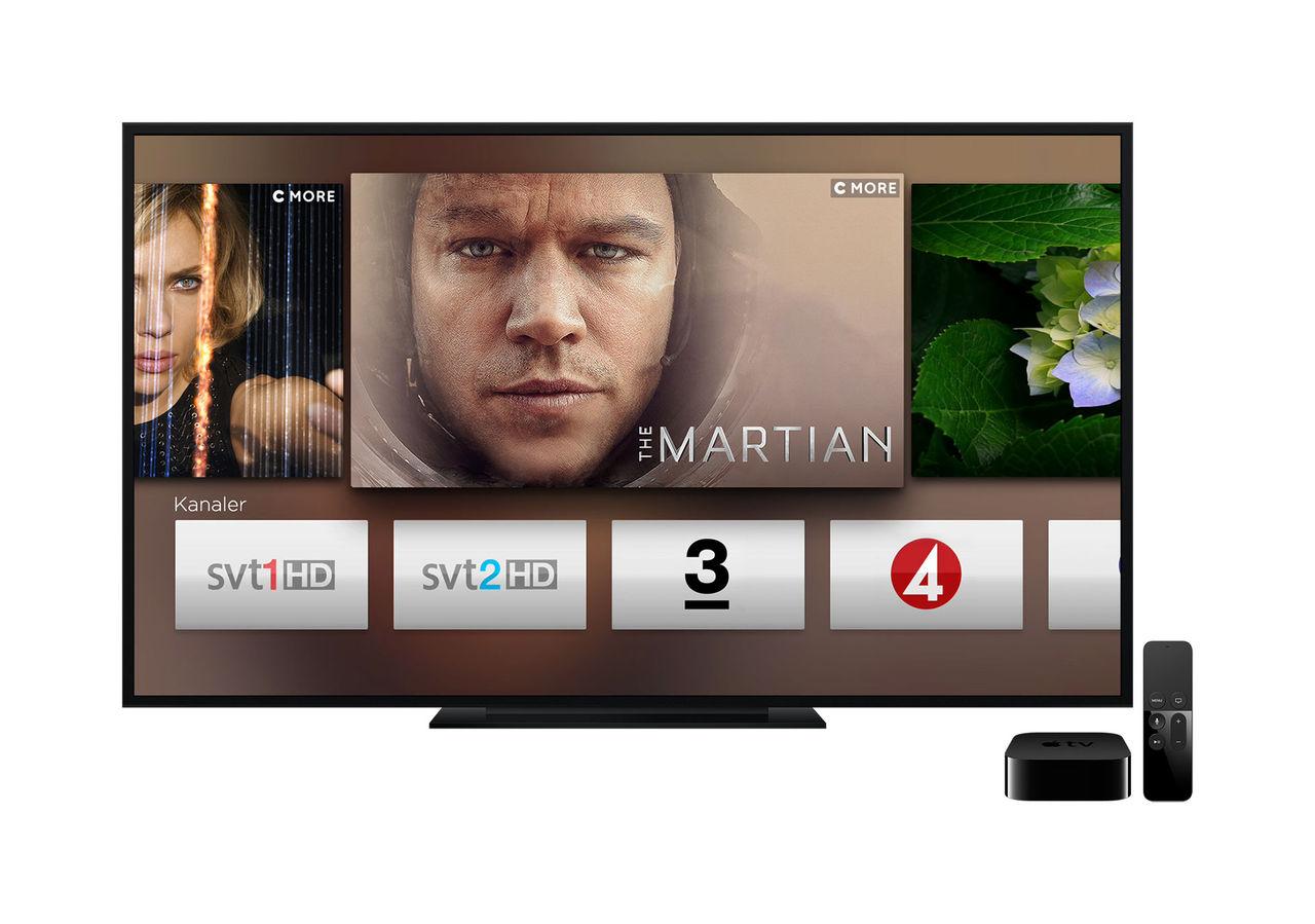 APPLE TV UTAN SMART TV
