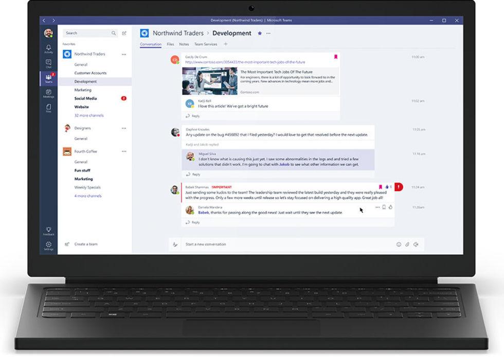 Microsoft lanserar Microsoft Teams