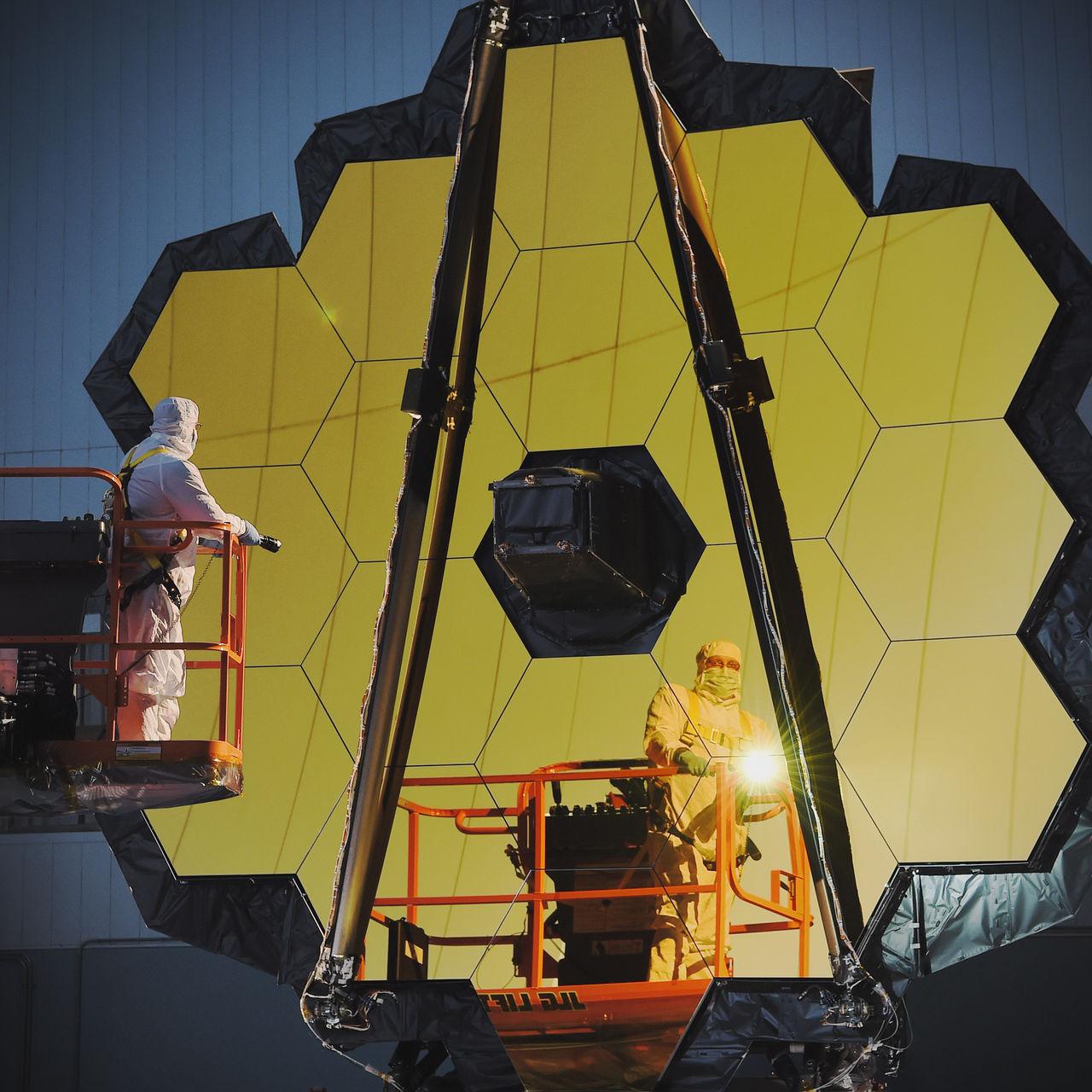 Världens kraftfullaste rymdteleskop färdigbyggt