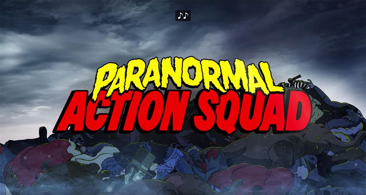 Paranormal Action Squad första animerade serien på YouTube Red