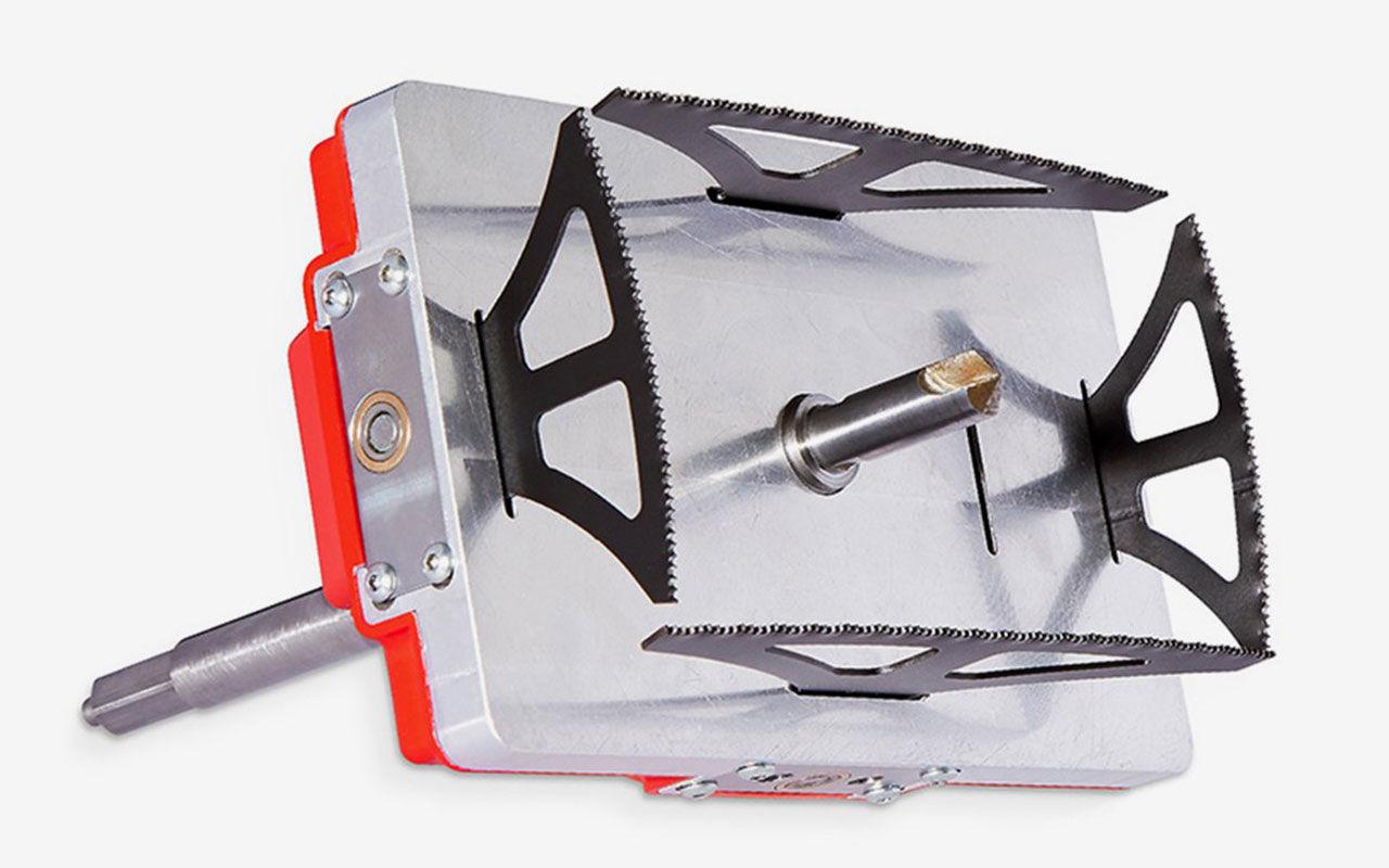 Det här verktyget kan borra fyrkantiga hål
