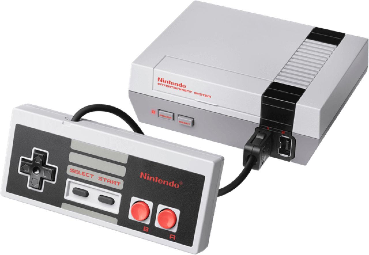 Vad hittar man i en NES Classic Edition?