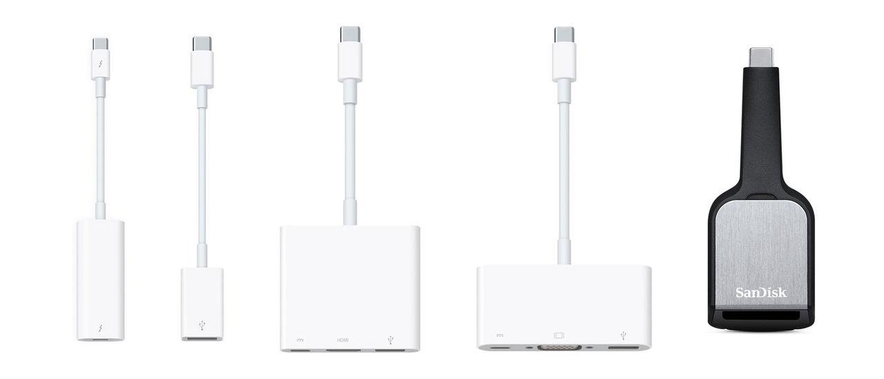 Apple sänker priserna på USB Type C-adaptrar