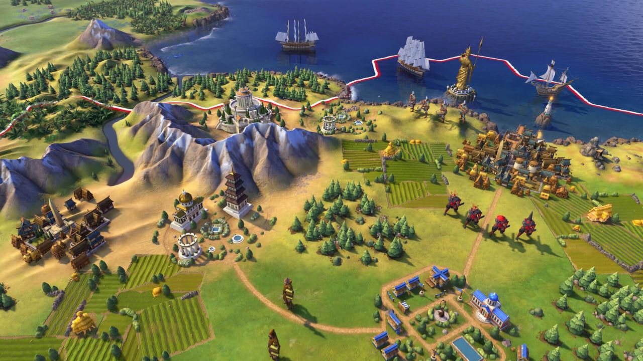 Civilization VI har nu en miljon spelare