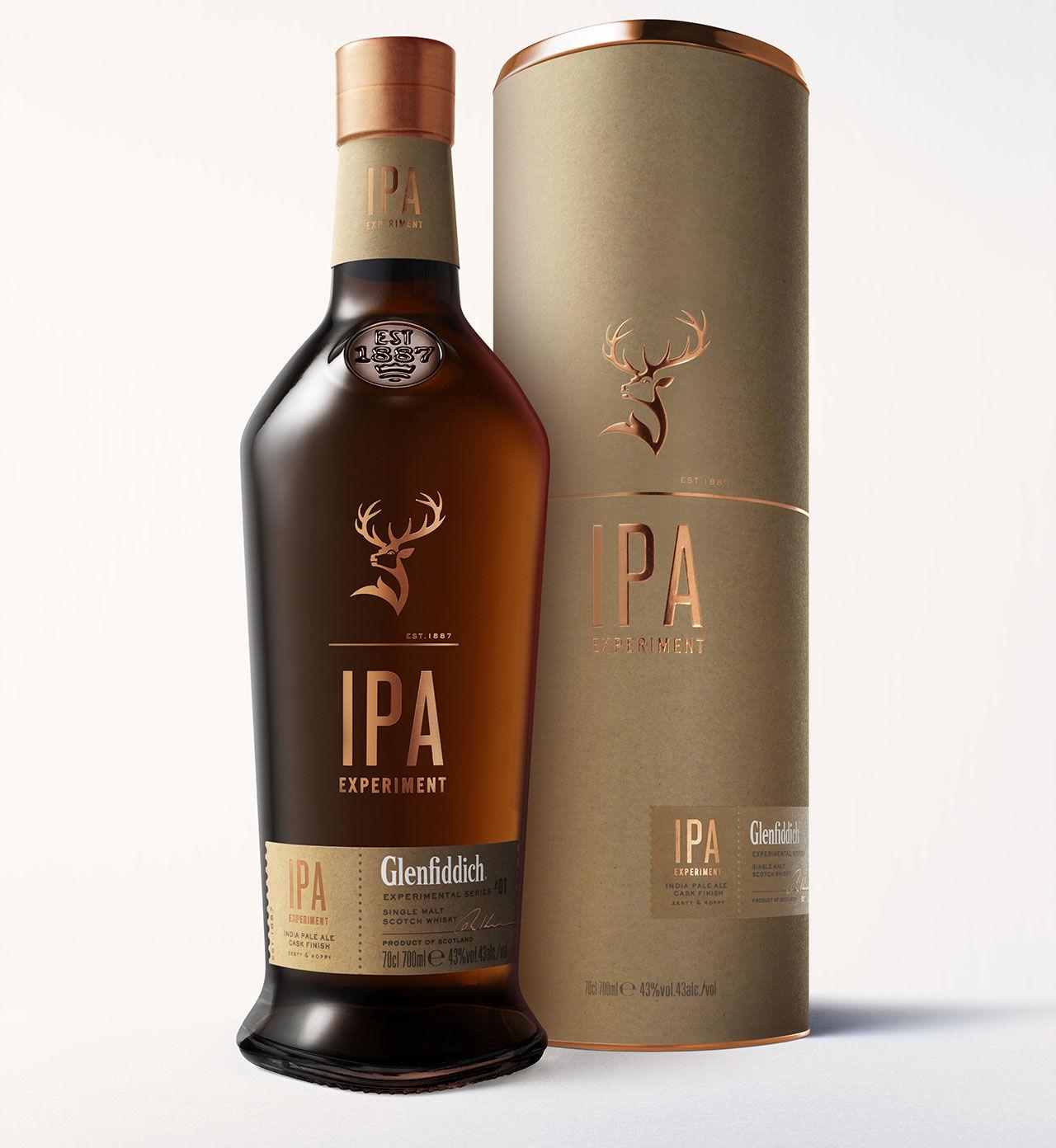 Whisky lagrad på IPA-fat