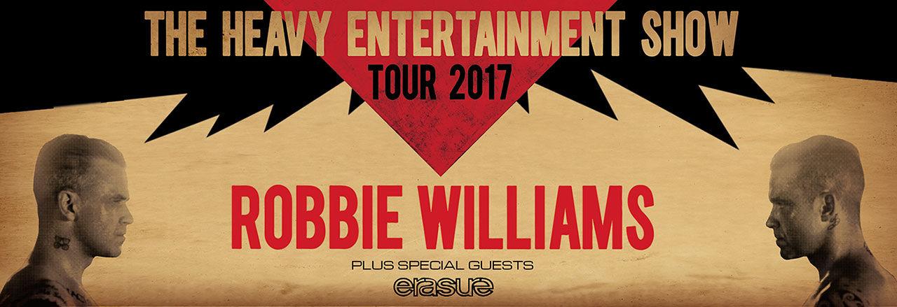Robbie williams kommer till sverige