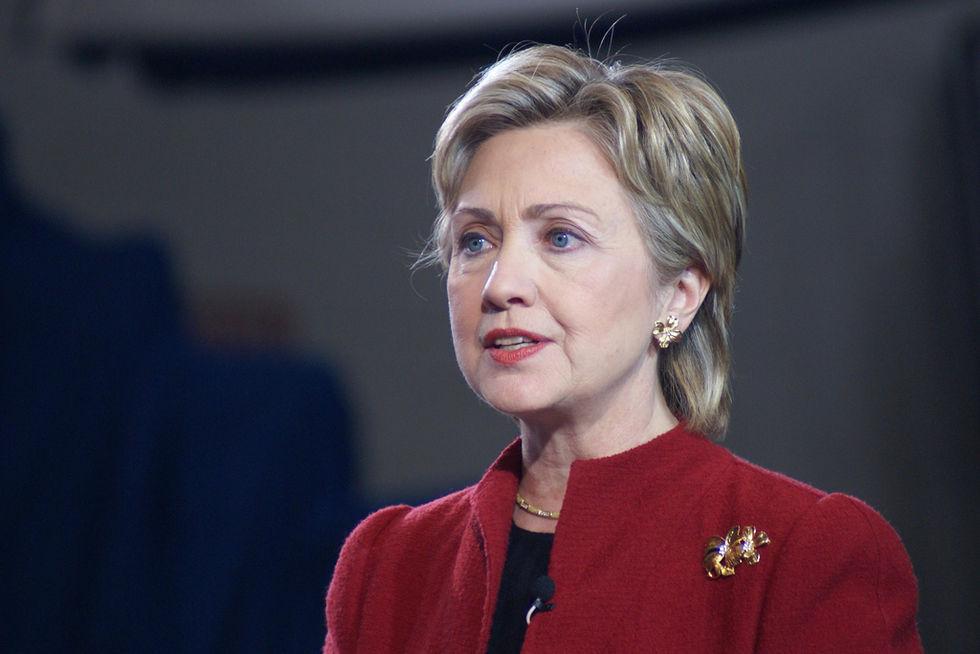 Sökmotorn Bing säger att Hillary Clinton vinner i natt