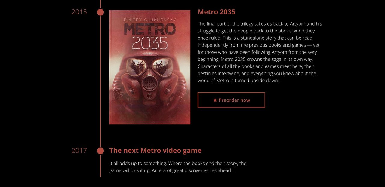 Det verkar som vi får ett nytt Metro-spel nästa år