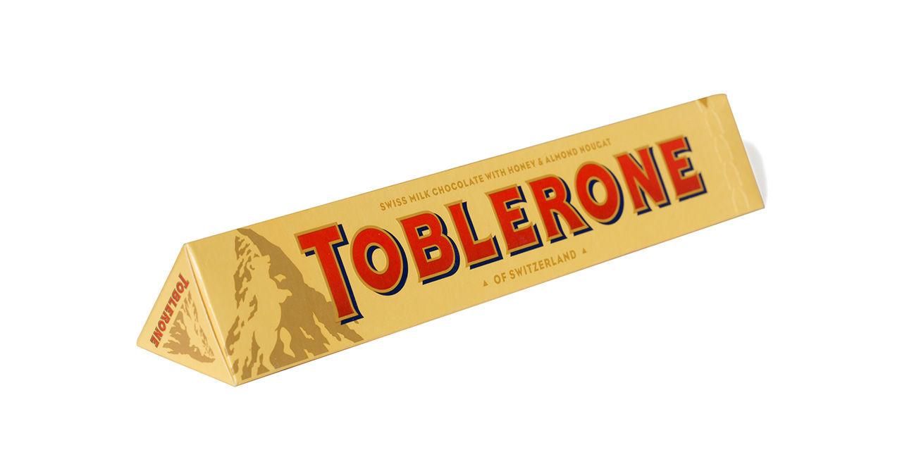 Toblerone ändrar sin klassiska form