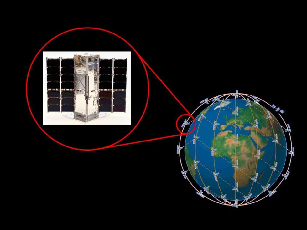 NASA kommer att skjuta upp en svärm av små satelliter till rymden