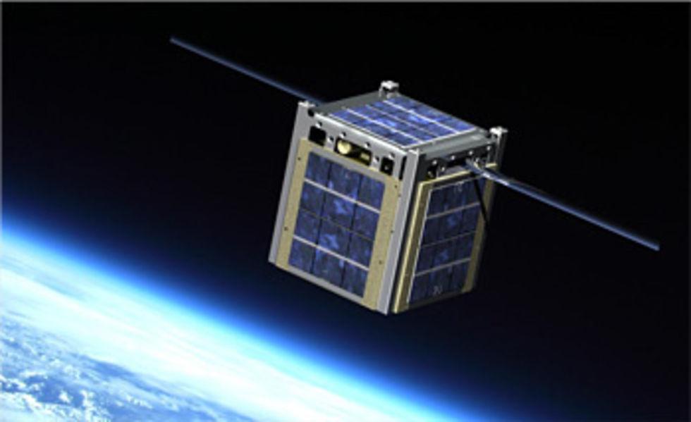 CubeSat - en egen satellit för 80 000 dollar