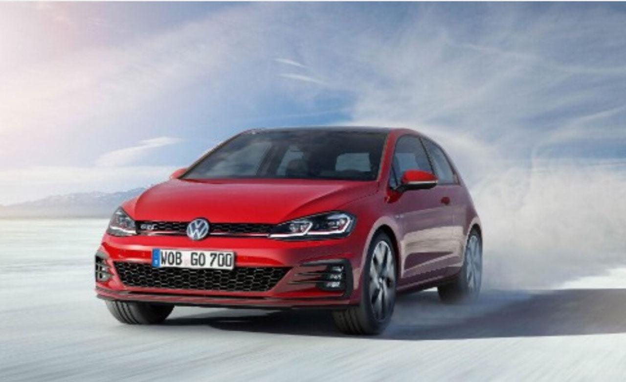 Volkswagens uppdaterade Golf läcker ut