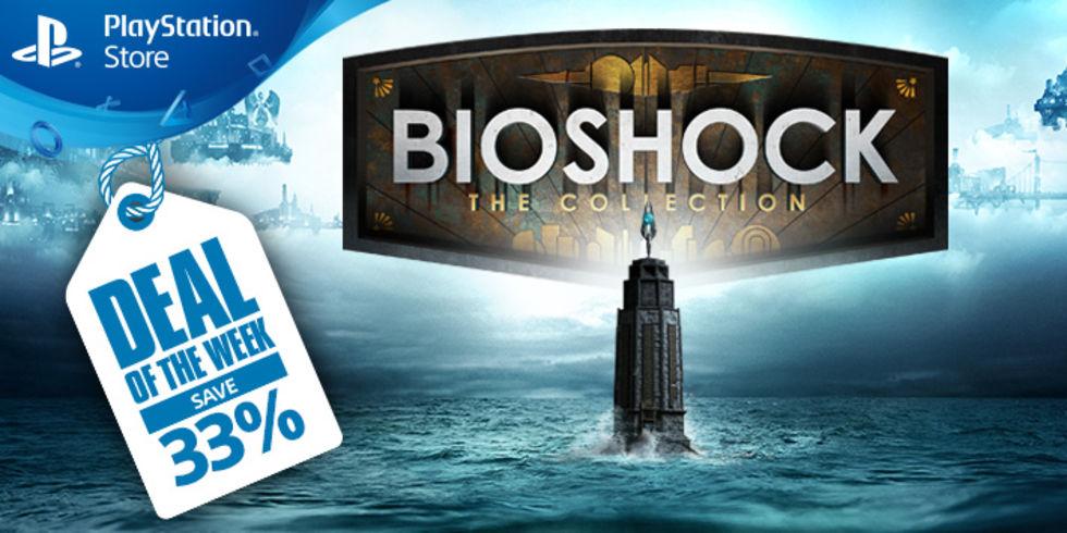 Fynda BioShock: The Collection på PlayStation 4