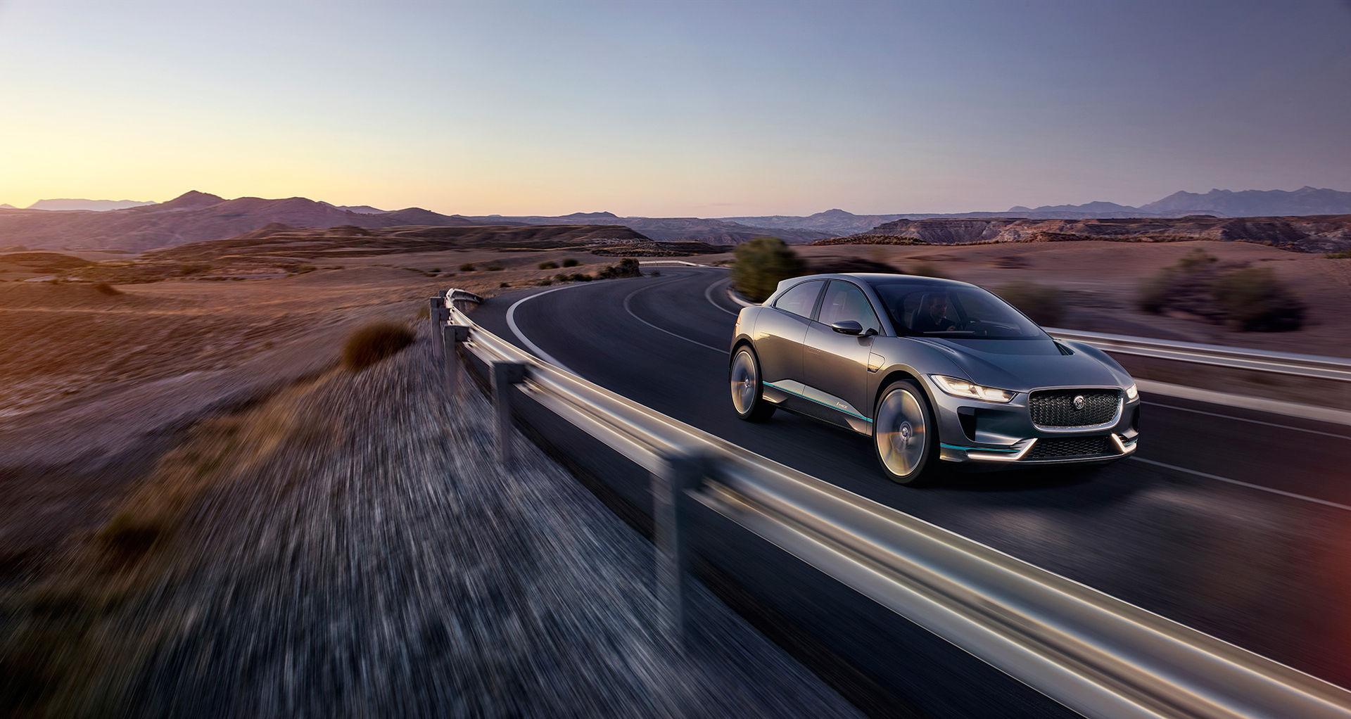I-Pace - Jaguars första elbil