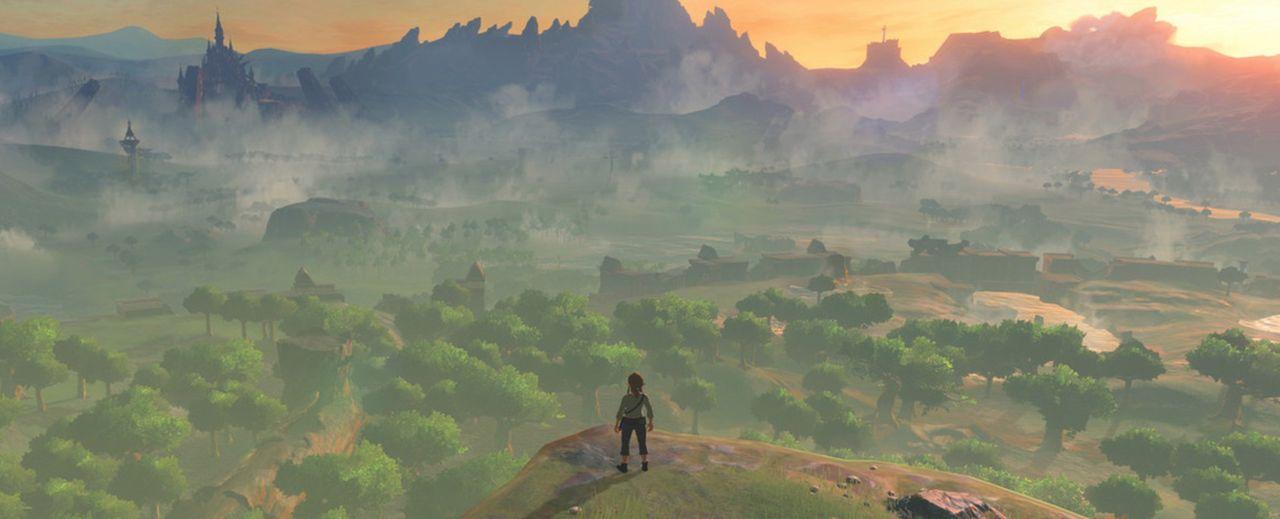 Inget The Legend of Zelda: Breath of the Wild vid Switch-släppet