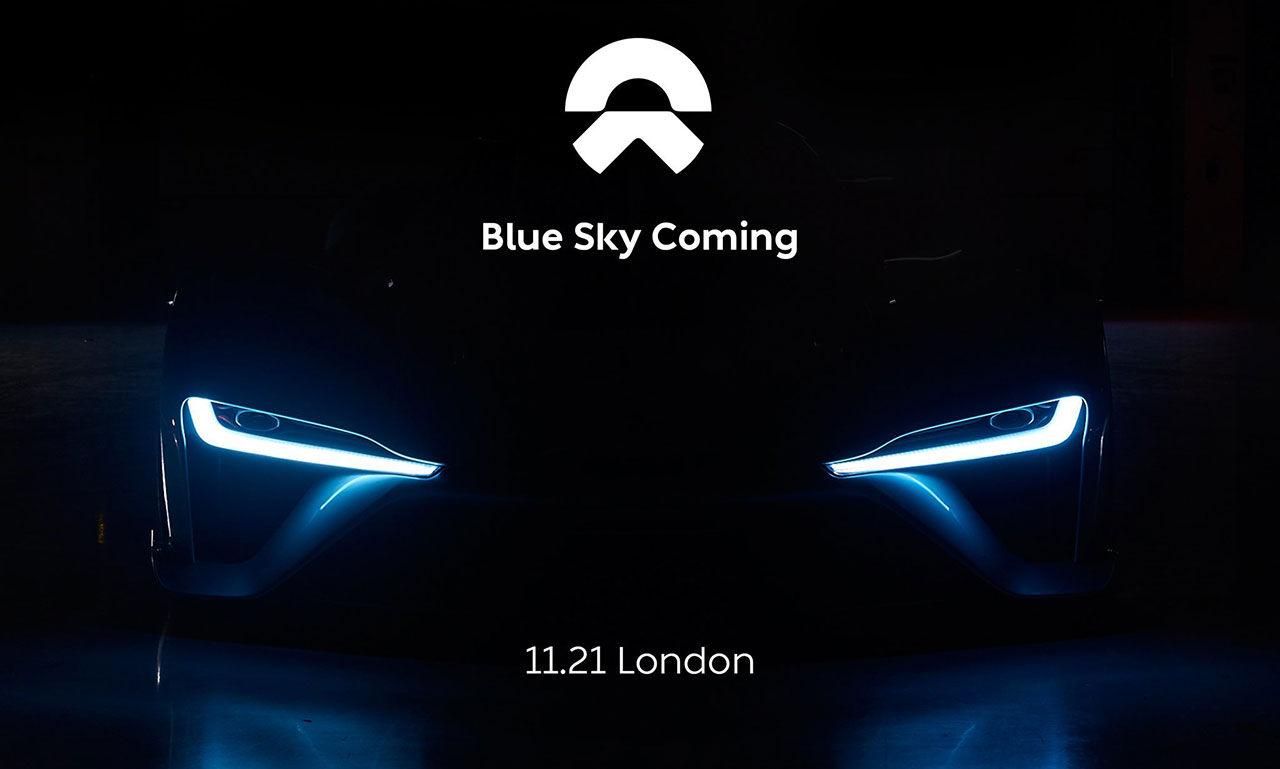 Ny teaser på NextEVs eldrivna superbil