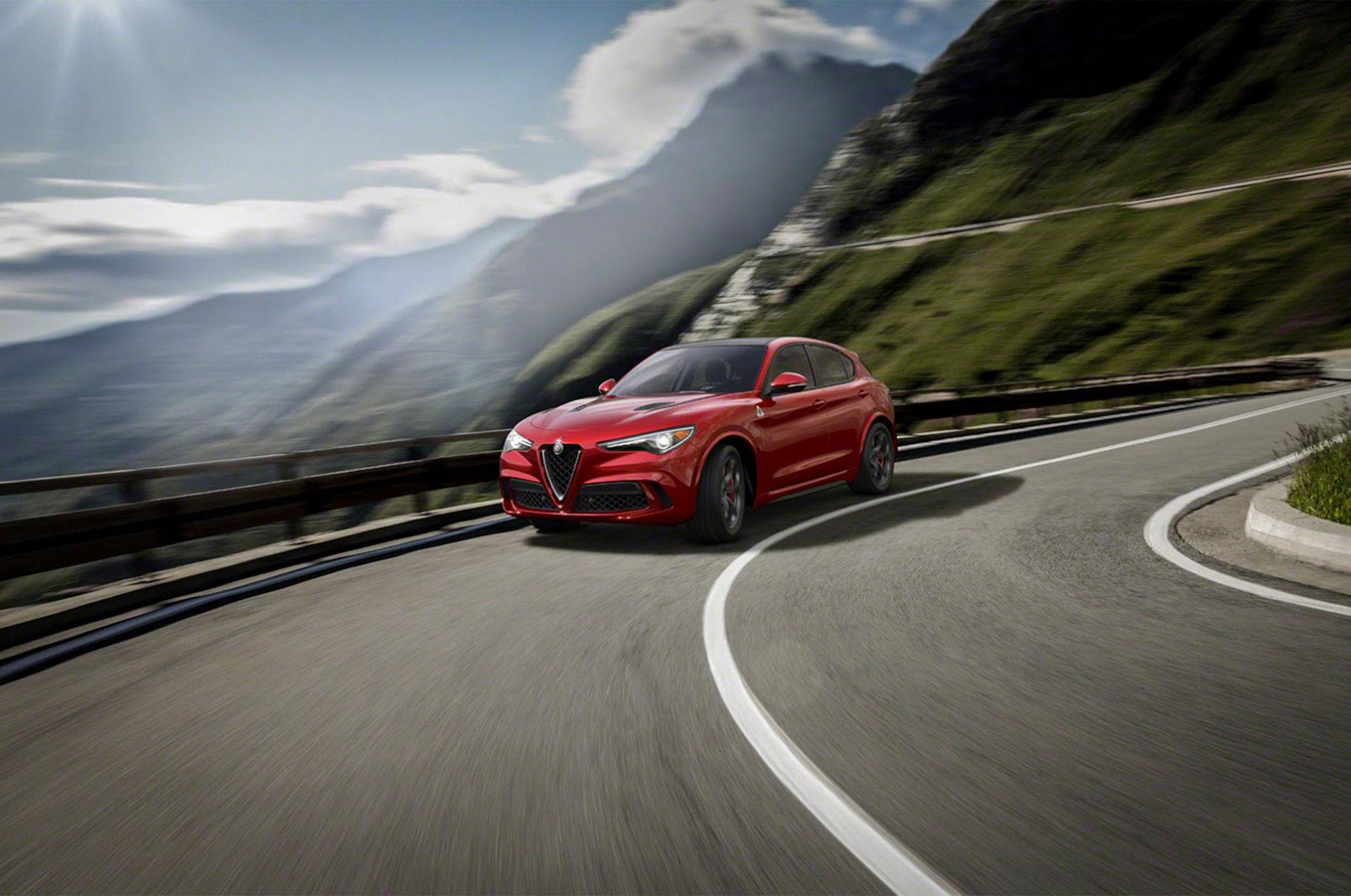 Alfa Romeos första SUV är här