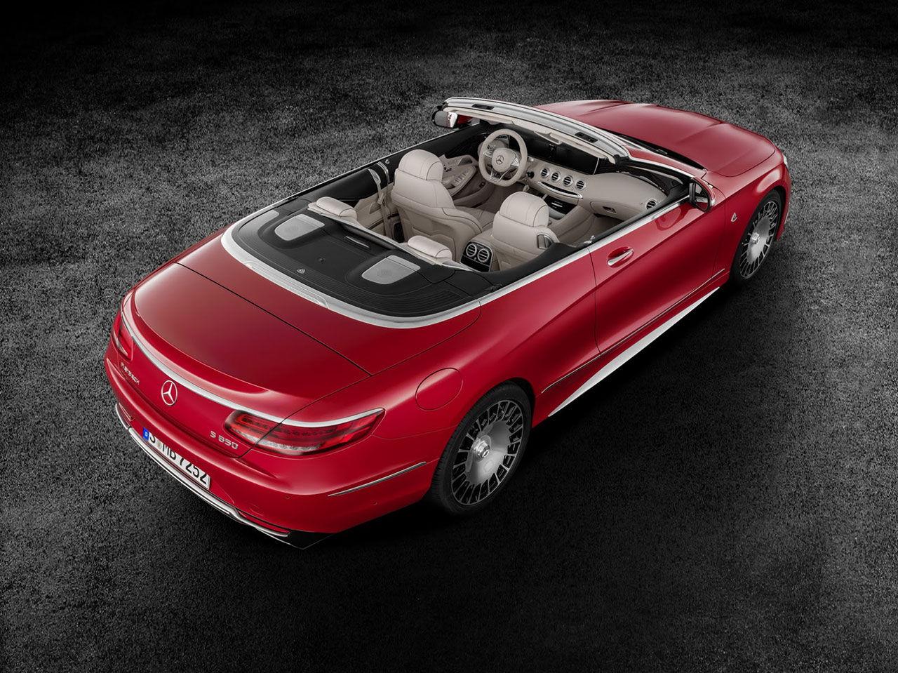 Mercedes lyxiga Maybach-cabriolet är här